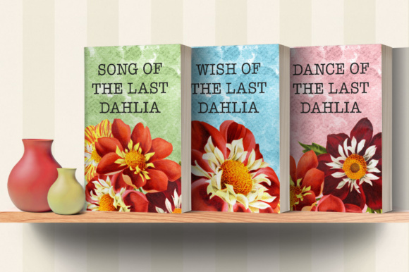 Dahlias Watercolor Graphic Illustrations By Enliven Designs - Image 3