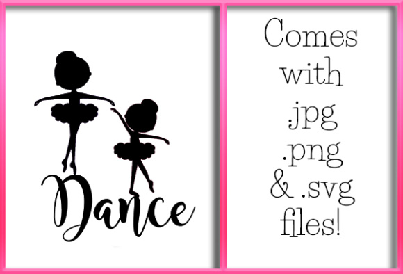 Print on Demand: Dancers 2 Graphic Crafts By Grafix by Kappie