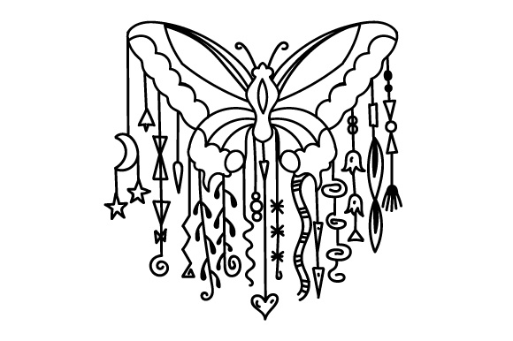 Download Free Dangle Design Butterfly Svg Cut File By Creative Fabrica Crafts for Cricut Explore, Silhouette and other cutting machines.
