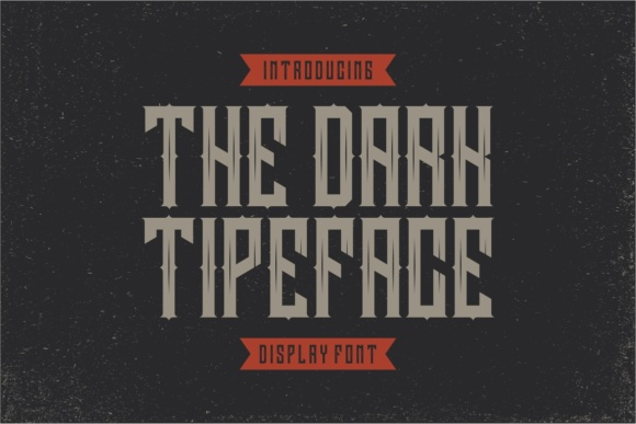 Print on Demand: Darkrise Display Font By putracetol - Image 5