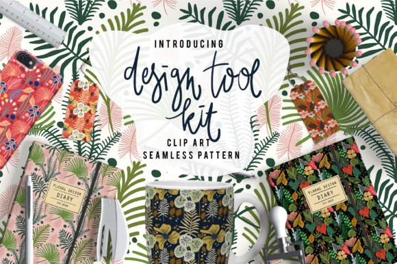 Print on Demand: Design Tool Kit Graphic Illustrations By Caoca Studios