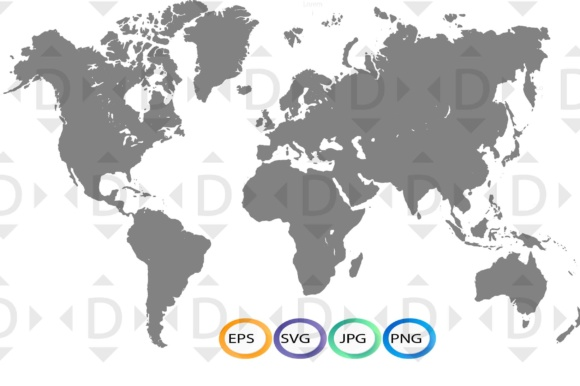 Digital download world map svg graphic by dxhdesigner creative fabrica digital download world map svg graphics gumiabroncs Image collections
