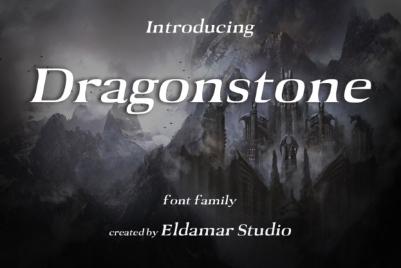 Print on Demand: Dragonstone Serif Font By Eldamar Studio Fonts