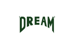 Download Free Dream Letter Graphic By Kokostd Creative Fabrica for Cricut Explore, Silhouette and other cutting machines.