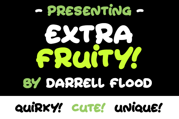 Print on Demand: Extra Fruity Script & Handwritten Font By Dadiomouse