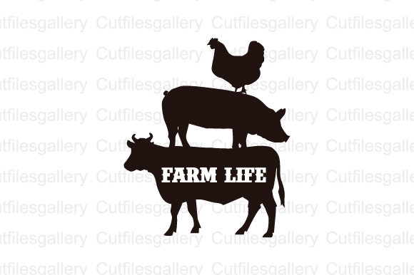 Download Free Farm Life Cut Files Graphic By Cutfilesgallery Creative Fabrica SVG Cut Files