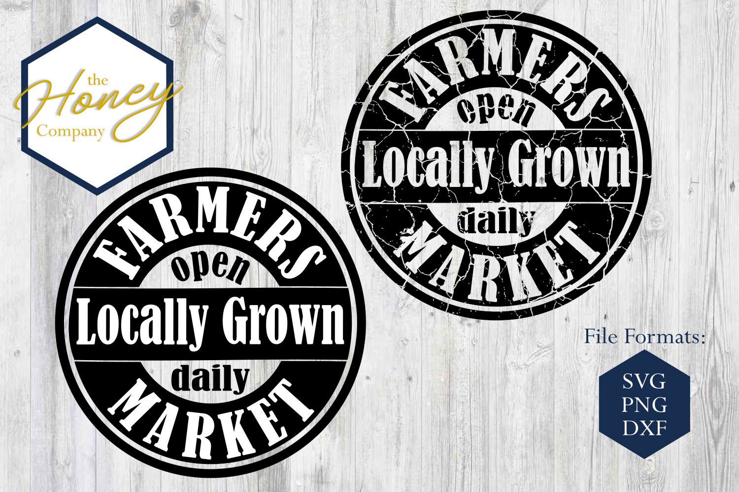 Download Free Farmers Market Graphic By The Honey Company Creative Fabrica for Cricut Explore, Silhouette and other cutting machines.