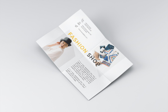 Fashion Shop Flyer Template Graphic Print Templates By harizandy