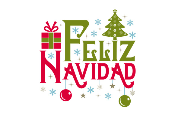 Feliz Navidad Quote Christmas Craft Cut File By Creative Fabrica Crafts