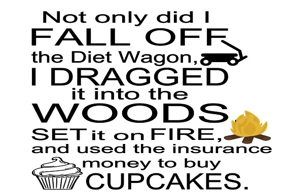 Download Free Fell Off The Diet Wagon Graphic By Family Creations Creative SVG Cut Files