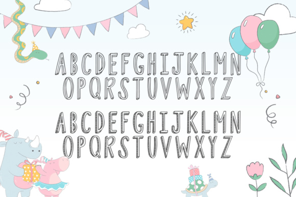 Print on Demand: Fiesta Duo Display Font By Salt & Pepper Designs - Image 5