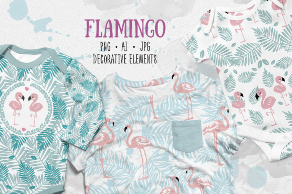Flamingo Graphic Illustrations By sto-va