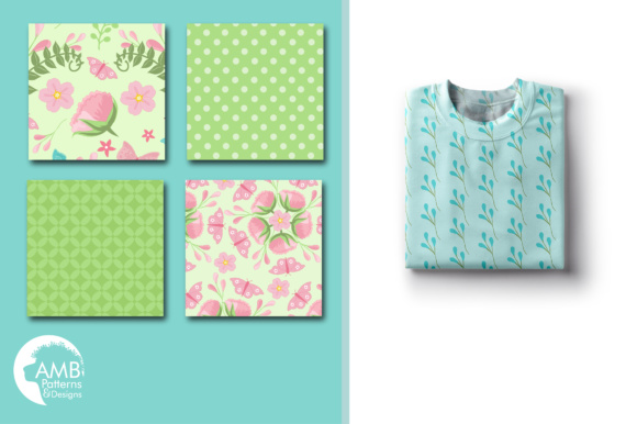 Floral Papers Graphic Patterns By AMBillustrations - Image 4
