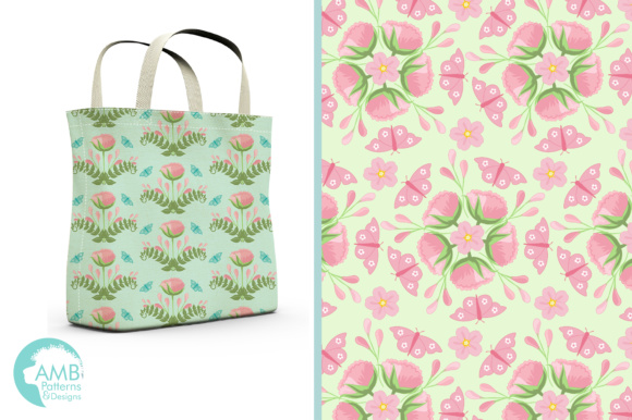 Floral Papers Graphic Patterns By AMBillustrations - Image 5