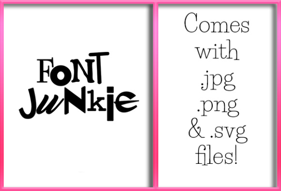 Print on Demand: Font Junkie Graphic Crafts By Grafix by Kappie