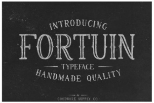 Fortuin Font By Goodware.Std