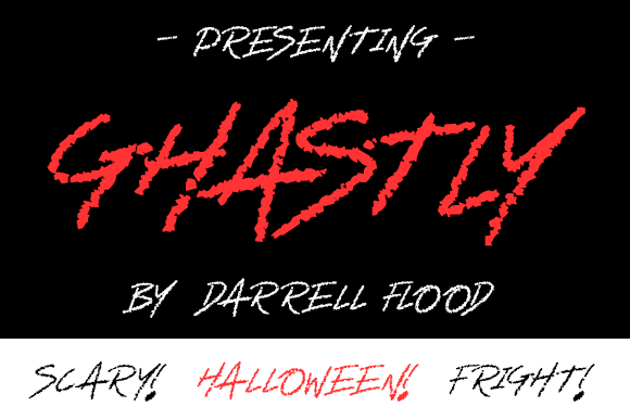 Print on Demand: Ghastly Script & Handwritten Font By Dadiomouse