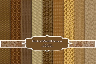 Glittering Gold Texture Graphic By retrowalldecor