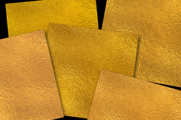 Print on Demand: Gold Foils Graphic Textures By JulieCampbellDesigns - Image 2