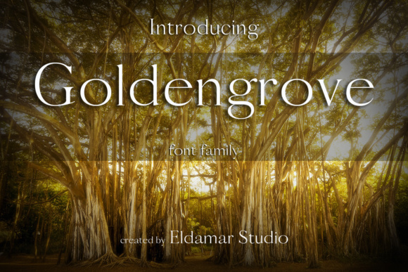 Print on Demand: Goldengrove Serif Font By Eldamar Studio Fonts