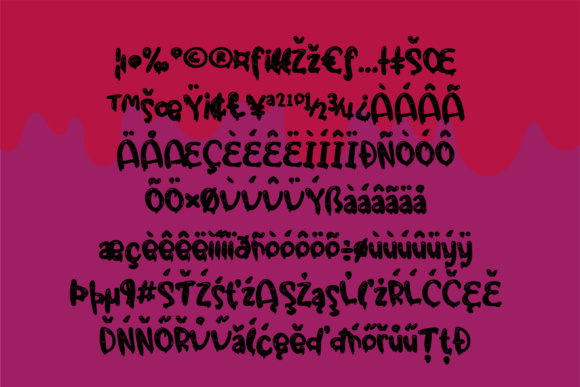Download Free Gooey Gumdrops Gorey Font By Illustration Ink Creative Fabrica for Cricut Explore, Silhouette and other cutting machines.