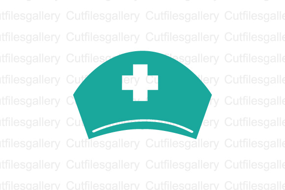 Download Free Green Nurse Hat Graphic By Cutfilesgallery Creative Fabrica for Cricut Explore, Silhouette and other cutting machines.