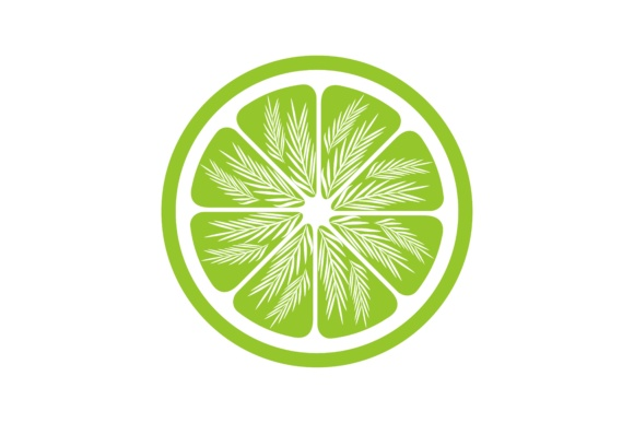 Download Free Green Lemon Slices Logo Graphic By Yahyaanasatokillah Creative for Cricut Explore, Silhouette and other cutting machines.