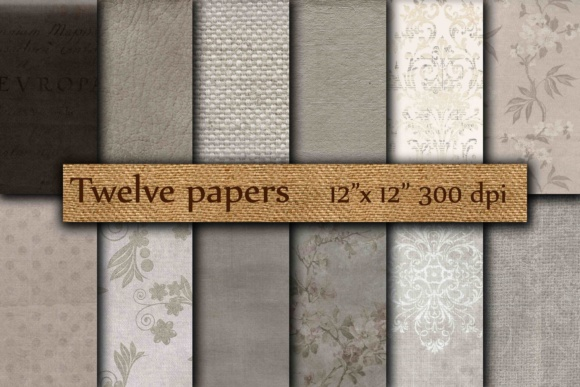Grunge Digital Paper Graphic Backgrounds By twelvepapers