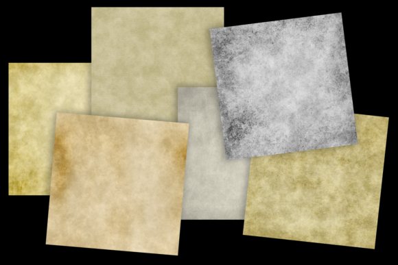 Print on Demand: Grungy Papers Graphic Textures By JulieCampbellDesigns - Image 3