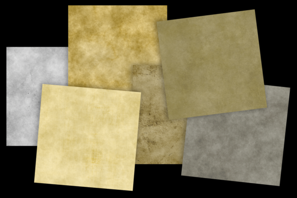 Print on Demand: Grungy Papers Graphic Textures By JulieCampbellDesigns - Image 4