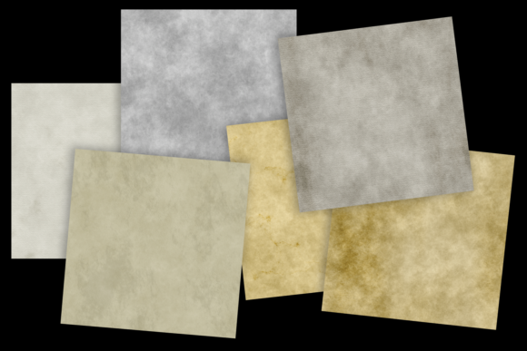 Print on Demand: Grungy Papers Graphic Textures By JulieCampbellDesigns - Image 8
