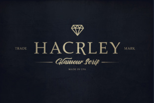 Hacrley Font By lickermelody