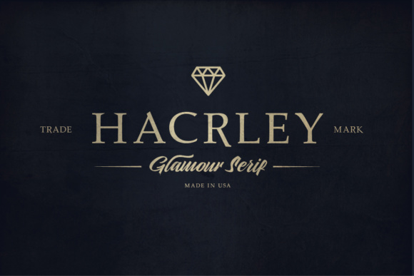 Print on Demand: Hacrley Serif Font By lickermelody