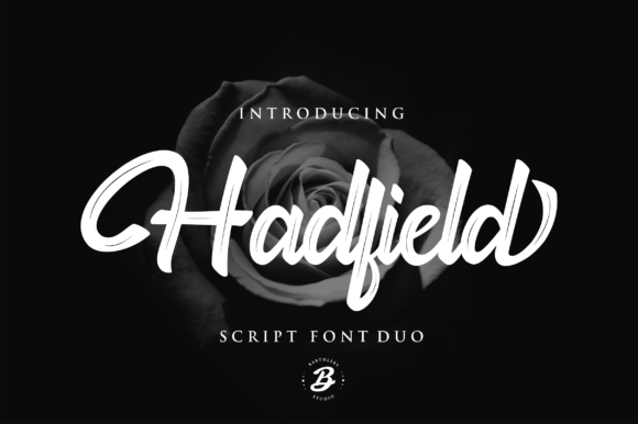 Print on Demand: Hadfield Script Script & Handwritten Font By Pen Culture