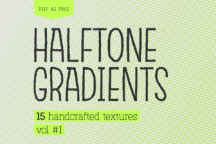 Halftone Gradients Texture Pack Graphic By antipixel