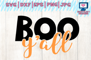 Download Free Halloween Boo Y All Graphic By Digitalistdesigns Creative Fabrica for Cricut Explore, Silhouette and other cutting machines.