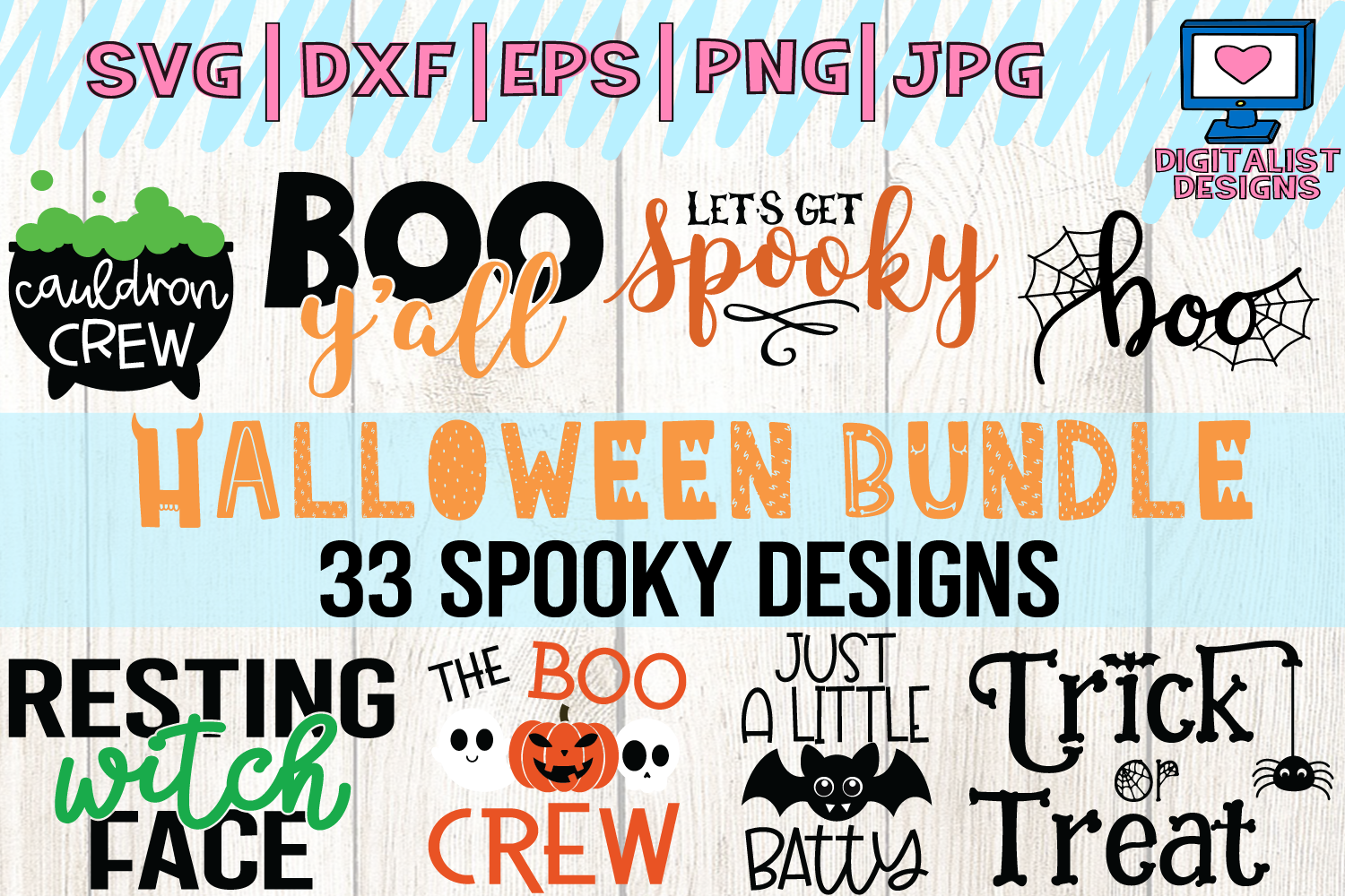 Halloween Quotes Bundle Graphic By Digitalistdesigns Creative Fabrica