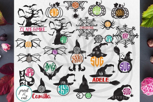 Halloween Bundle   Graphic Crafts By Cornelia