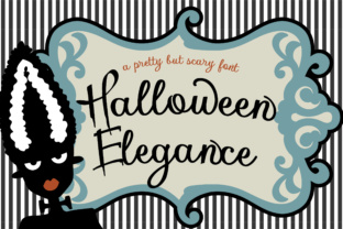 Halloween Elegance Script & Handwritten Font By Illustration Ink