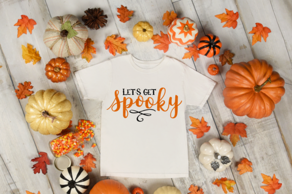 Halloween Let S Get Spooky Svg Graphic By Digitalistdesigns Creative Fabrica