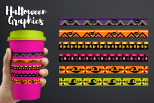 Halloween Long Ribbons Design Graphic By Revidevi