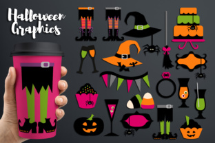 Halloween Party, Witch Feet and More Graphic By Revidevi