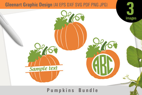 Halloween Pumpkin Vector Design Graphic Illustrations By Gleenart Graphic Design