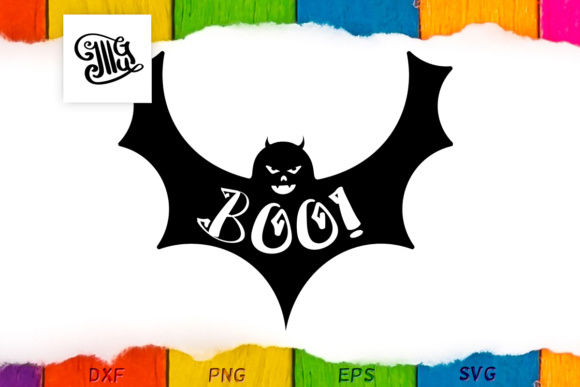 Halloween Boo Graphic Crafts By Illustrator Guru