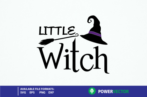 Download Free Halloween Little Witch For Cricut Silhouette Graphic By SVG Cut Files