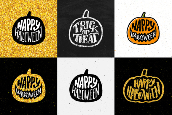 Halloween Decorative Elements Graphic Illustrations By Yurlick - Image 2