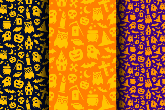 Halloween Decorative Elements Graphic Illustrations By Yurlick - Image 3
