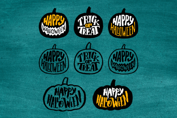 Halloween Decorative Elements Graphic Illustrations By Yurlick - Image 6