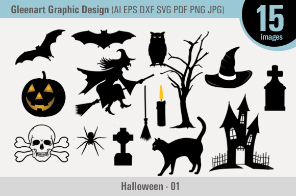 Happy Halloween Vector Graphic Design Graphic By Gleenart