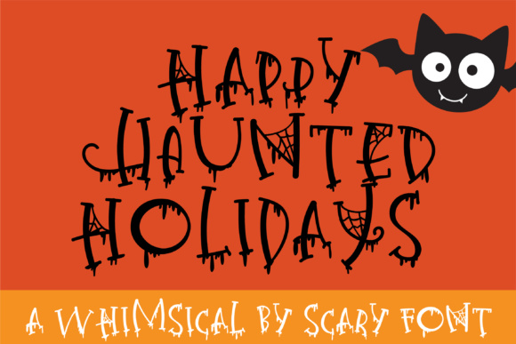 Print on Demand: Happy Haunted Holidays Serif Font By Illustration Ink
